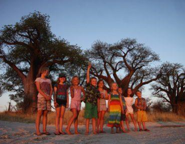 Botswana family safaris with endeavour safaris